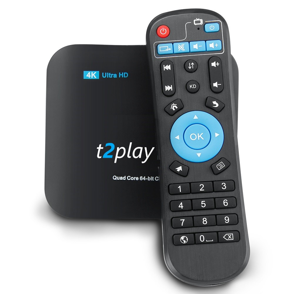 Brand New T2player IPTV Package Box